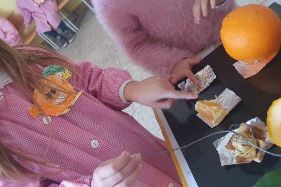 Makey Makey scopre l'arancia!